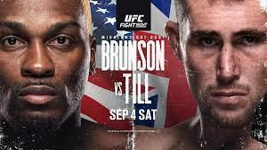 UFC Fight Night is back and tonight, don't miss Brunson vs. Till! Watch the matchup and the full fight card from anywhere in the world with these tips!