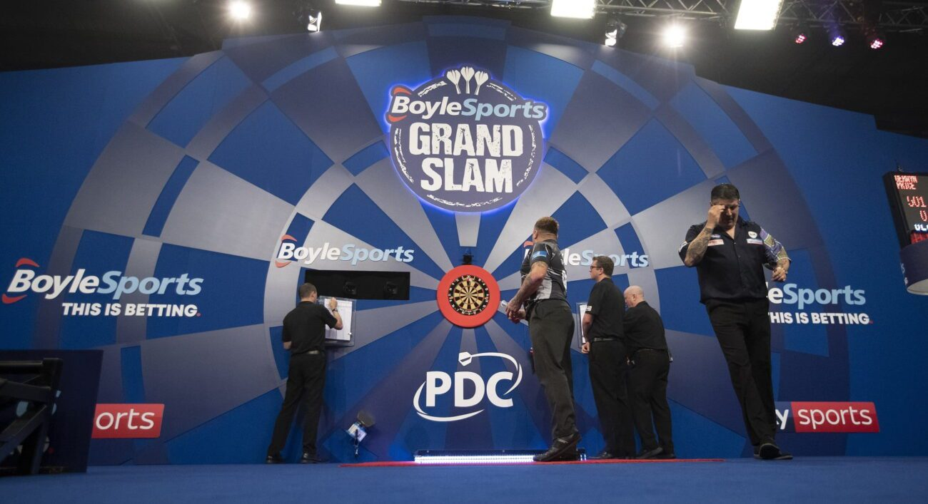 Any fans of darts out there need to be paying attention. Watch the best darts players in the world compete in the BoyleSports World Grand Prix.