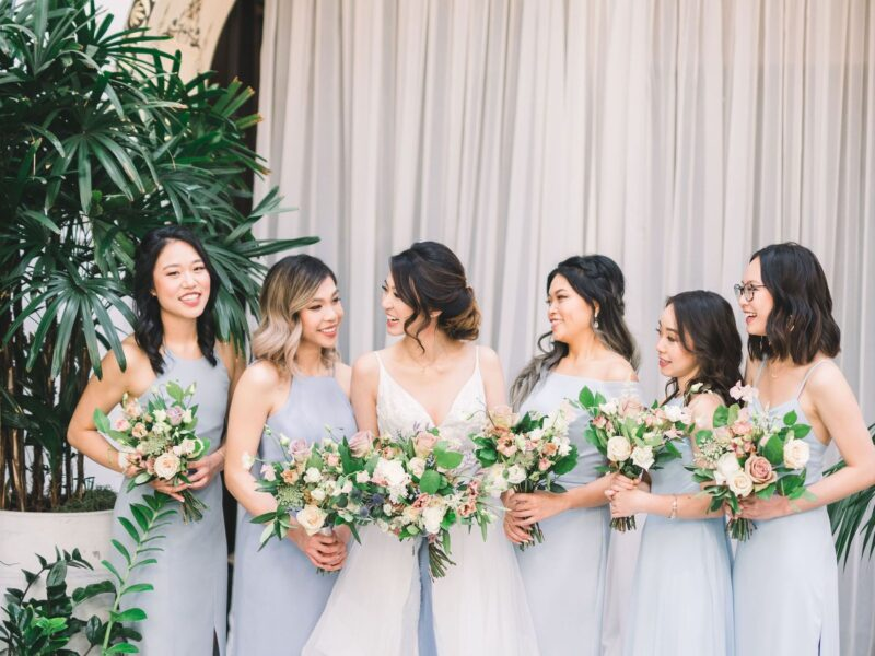 If there's ever a time for you and all your friends to be looking great, it's on your wedding day. Look great with the latest bridesmaid fashion trends.