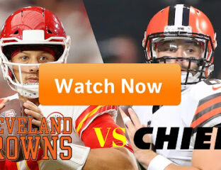 The Browns are here to take on the Kansas City Chiefs. Discover how to live stream the exciting football game online for free.