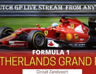 It's time for the 2021 Dutch Grand Prix. Find out how to live stream the anticipated racing event online for free.