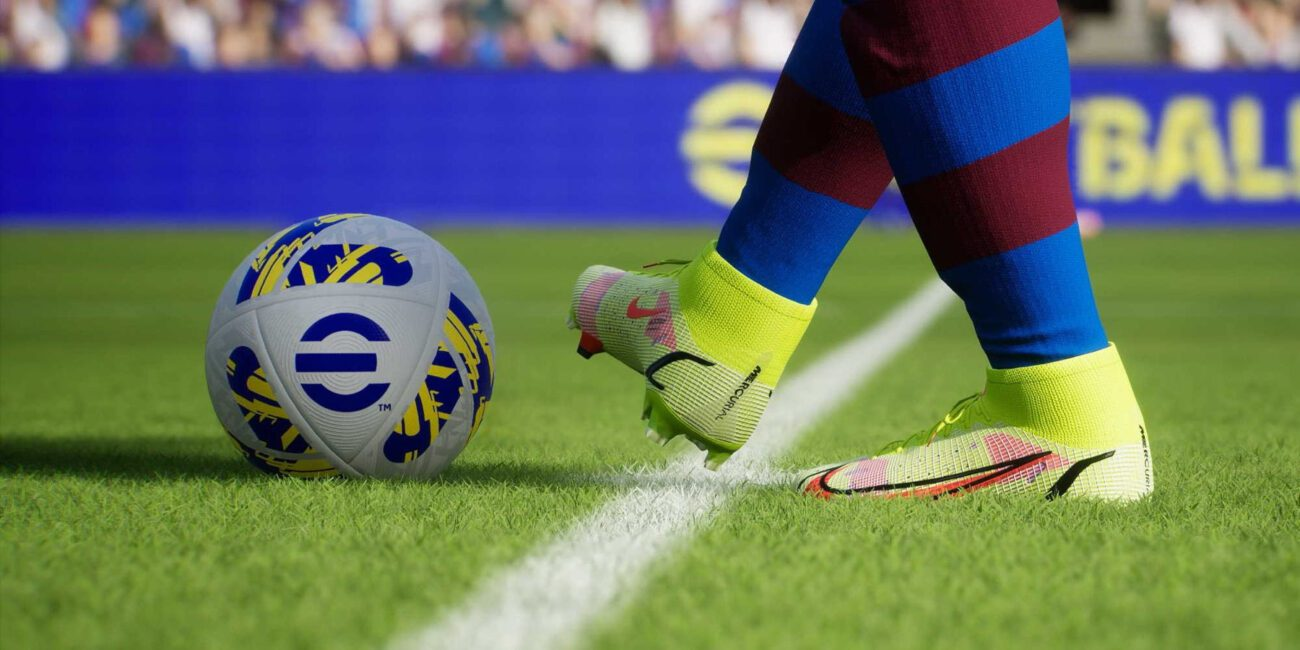 EFootball is back, and you don't want to miss this year's teams for EA's FIFA 22! Discover all the ways you can play and bet on esports here!
