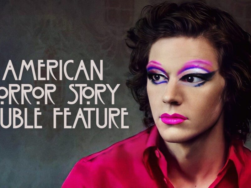Will Evan Peters perform in drag on the next episode of 'American Horror Story: Double Feature'? Get the tea on this upcoming episode now!