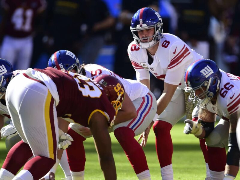 Thursday football is back, and it's time for the Giants vs the Washington Football Team. Game on with all the best places to stream the match live.