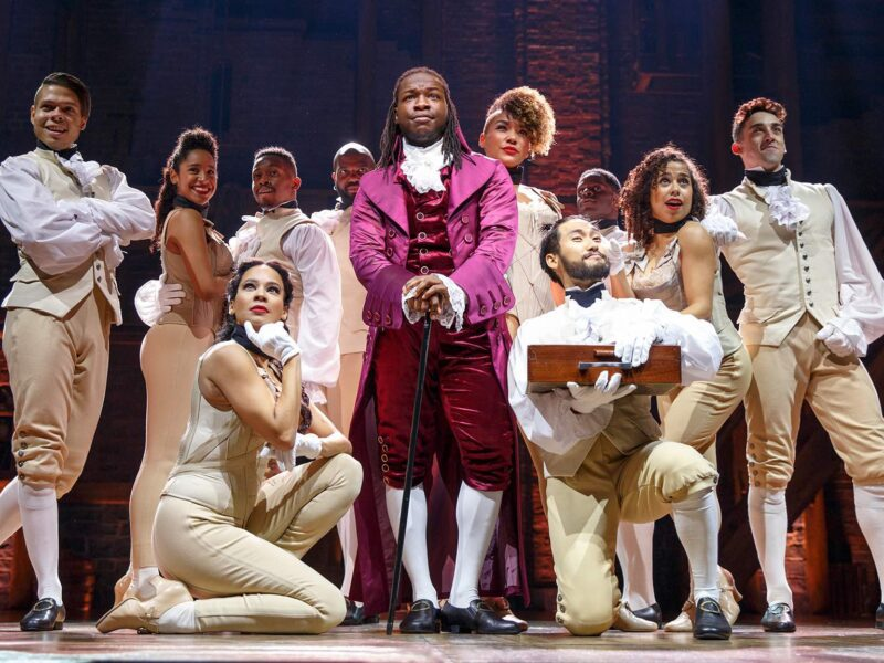 Broadway fans can now check out the viral sensation that is 'Hamilton' on Disney Plus. Sashay into the story of other favorite historical musicals.