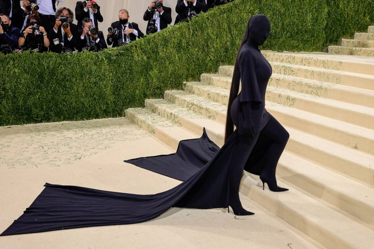 Kim Kardashian turned heads at the Met Gala this week. Crack open the story and check out the best Twitter reactions to her shocking new outfit.