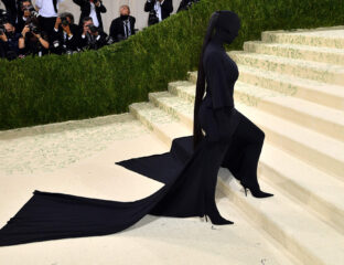 Twitter thinks Kim Kardashian snuck her ex Kanye West into the 2021 Met Gala with a matching look. But what do the experts say?