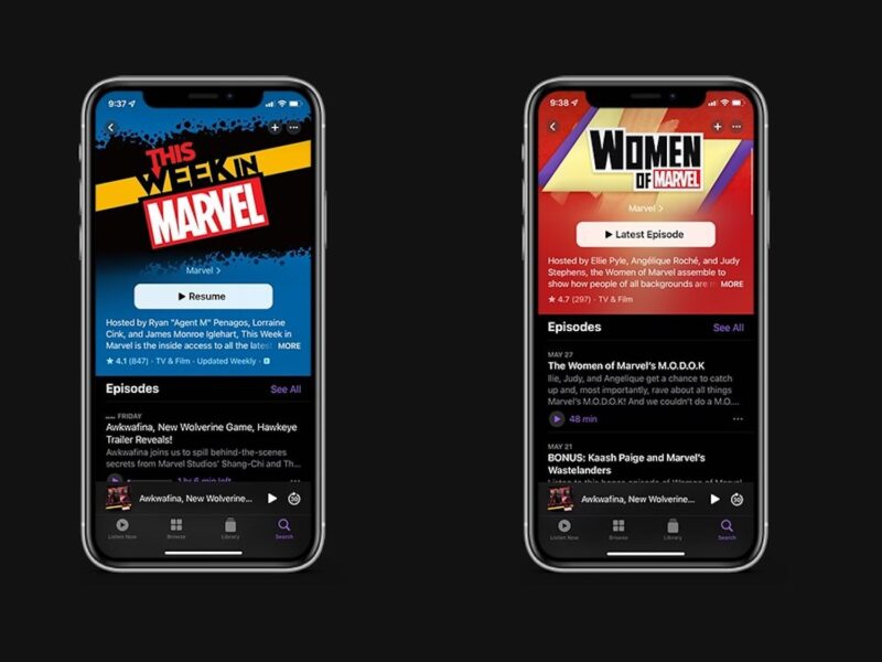 Do you love Marvel and its associated podcasts? Check out everything you know about Marvel Podcasts Unlimited on the Apple Podcast app.