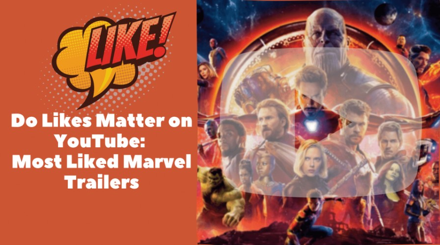 Marvel is known for their exciting trailers. Here's a rundown of the most liked trailers in the history of the Marvel Cinematic Universe.