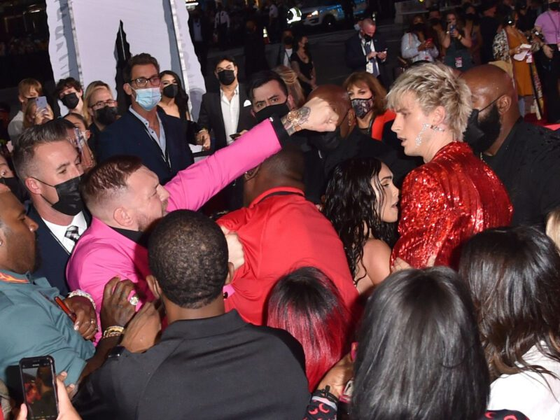 The drama between Machine Gun Kelly & Conor McGregor went down at the VMAs. What happened between the rapper turned rockstar and the MMA fighter?