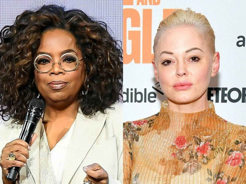 It's Rose McGowan versus Oprah Winfrey over on Twitter. See the reasons why the actor is going up against the powerhouse of Oprah.