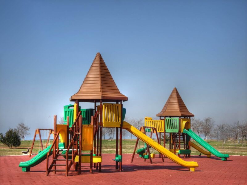 Getting to spend time on the playground is one of the greatest joys in childhood. Make your background amazing by installing play area equipment.