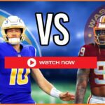 Ready to Watch Chargers vs Washington Live Stream Free NFL Football Game 2021 Streams Online Reddit TV Coverage.