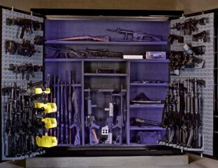 It can be tricky to mount a gun safe on the wall. Here's a step by step process on how to master the mounting process.