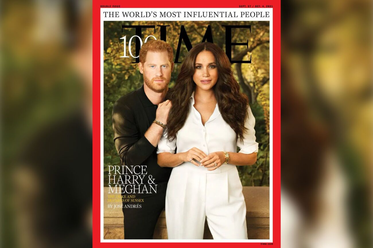 Prince Harry and Meghan Markle gracing the cover page of 'TIME' magazine for the World's Most Influential People. How did Twitter react?