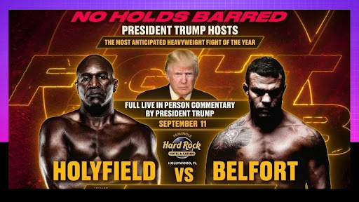 Don't miss a single second of this epic trilogy at 'Holyfield vs. Belfort' on 11 September, including How to watch the fight live stream for free on Reddit!