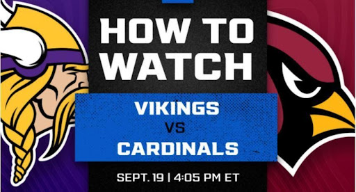 The Vikings are gearing up to square off against the Cardinals. Find out how to live stream the football event online for free.