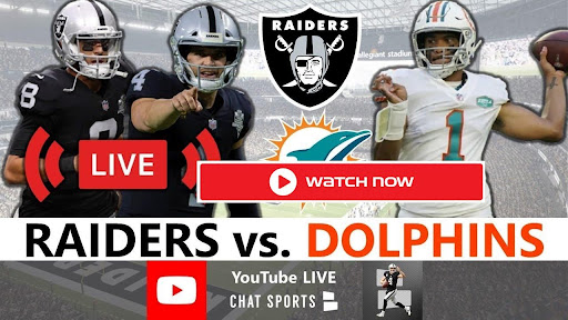 Miami Dolphins are ready to face off against the Raiders. Find out how to live stream the Dolphins vs Raiders game online for free.