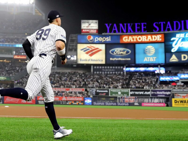 The 2021 New York Yankees have struggled this season. Despite a wild win streak they could still miss the playoffs. Check out their odds to win it all!