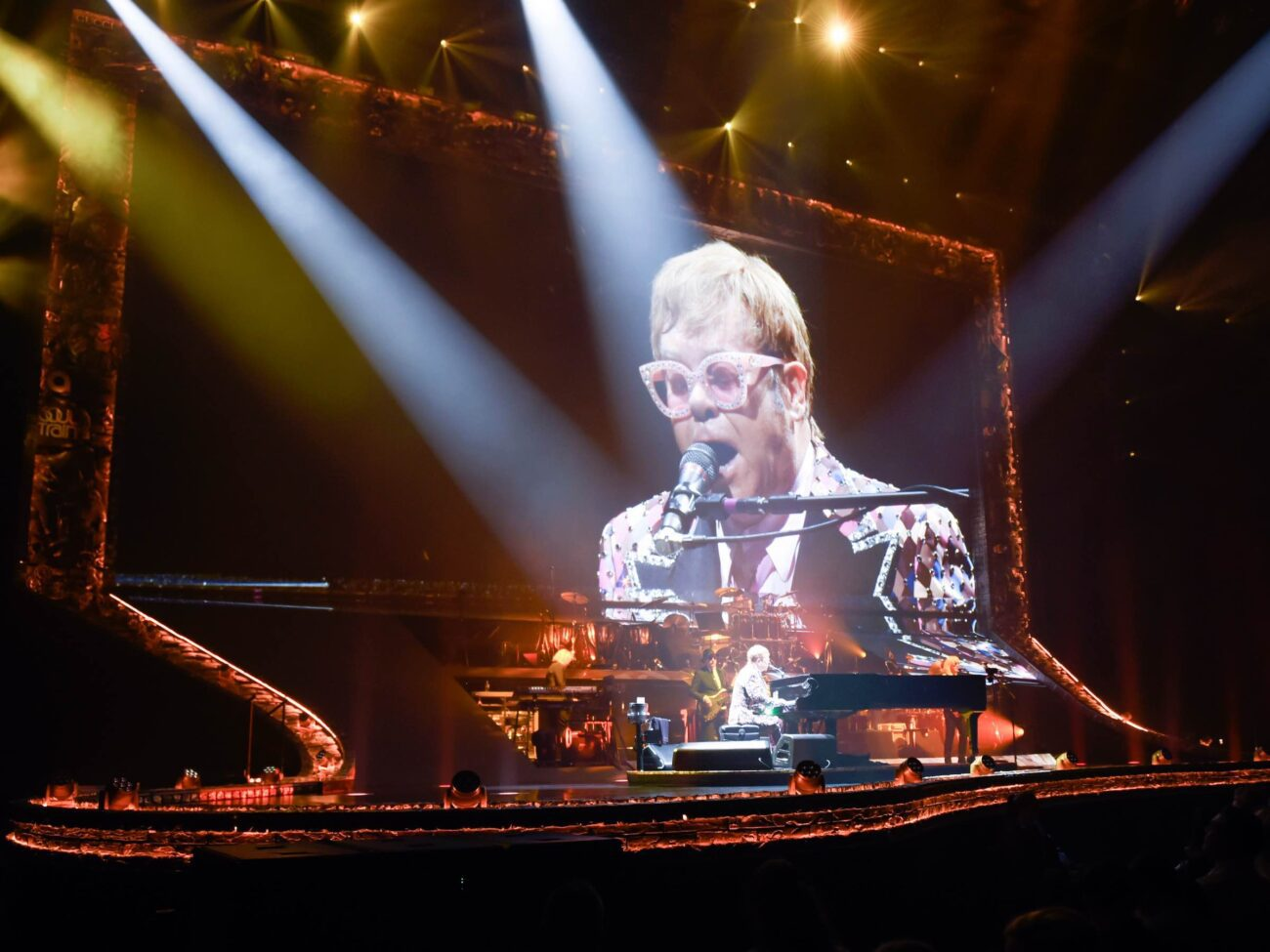 Elton John has been looking forward to getting on the road again. Open the story and discover the latest hiccup with his 'Farewell Yellow Brick Road' tour.