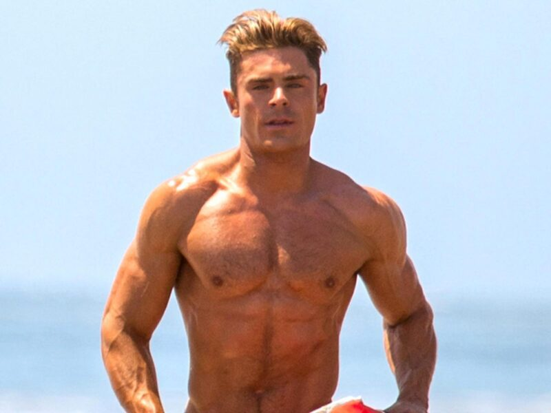 Happy birthday to the handsome and talented Zac Efron! Take a moment (or longer) to admire these shirtless pics of the actor from 'Baywatch' and more.