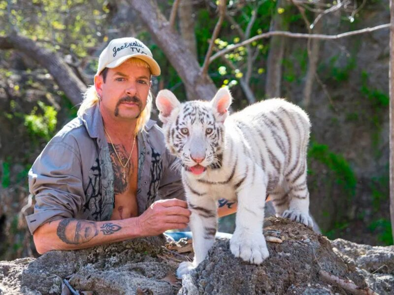 """Although Joe Exotic is in jail, that doesn't stop him from stirring the pot. The """"Tiger King"""" is suing the BBC due to the """"illegal"""" use of his music."""