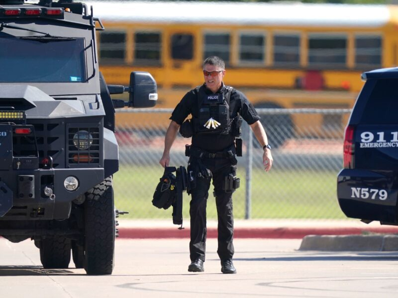 Today, a shooting occurred at a high school in Texas. Learn how the police caught the shooter and how the U.S. has suffered from school shootings.