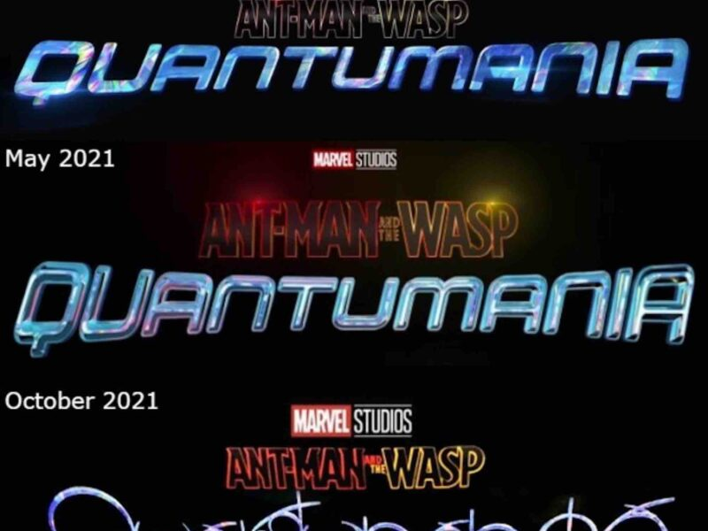 'Ant-Man and the Wasp' set pictures show a new logo for 'Quantumania' and it sure is something. Laugh at the best jokes on Twitter.
