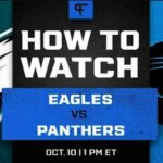 Here's a guide to everything you need to know about how to watch NFL week 5 Eagles vs. Panthers live stream on Reddit.