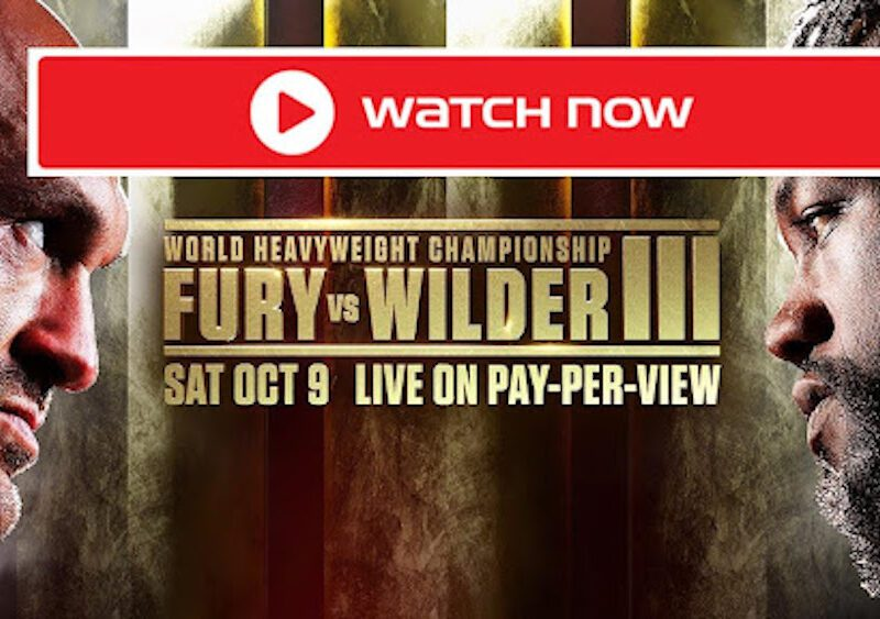 Tyson Fury and Deontay Wilder contest a hotly-anticipated trilogy fight in Las Vegas on Saturday night. Watch the live stream now.