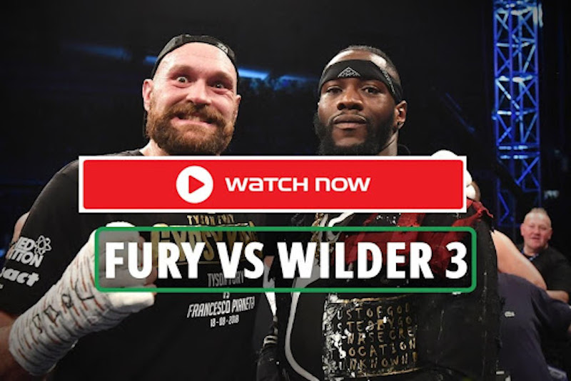 Tyson Fury and Deontay Wilder contest a hotly-anticipated trilogy fight in Las Vegas on Saturday night. Here's our live stream of the match.
