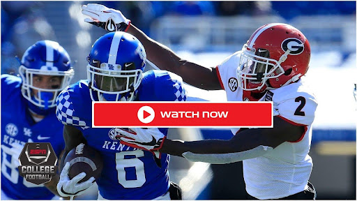 Kentucky is gearing up to face Georgia on the football field. Find out how to live stream the college game online for free.