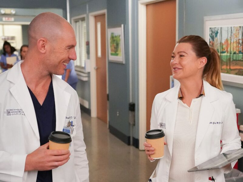 'Grey's Anatomy' season 18 is debuting with multiple blasts from the past. Get your shipping labels ready and check out Meredith's new potential lover!