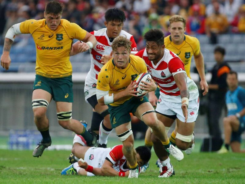 Don't miss a second of the exciting rugby action as Japan squares off against Australia! Learn how you can stream the match for free!