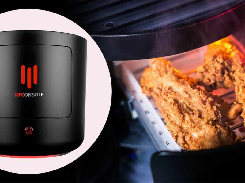 KFC has plans to release a video game console that keeps your chicken warm. Stop laughing, they're actually really serious.