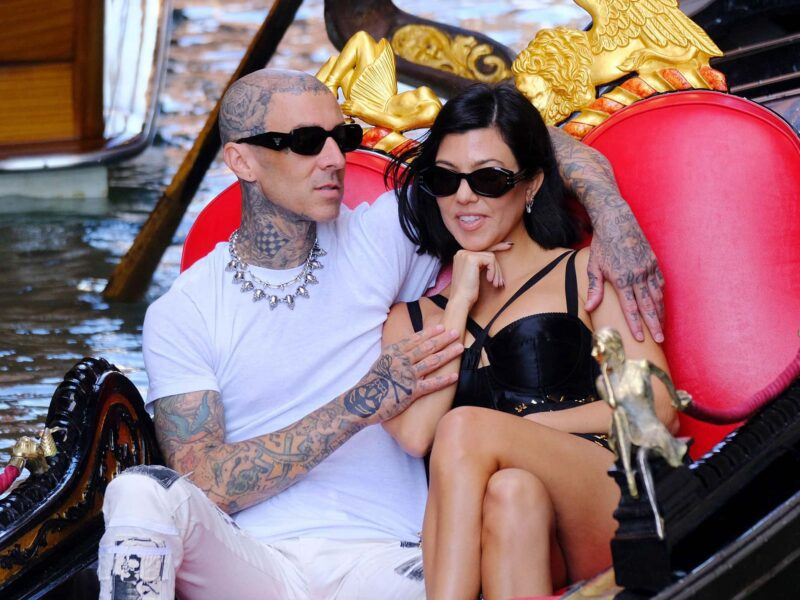 Kourtney Kardashian and Travis Barker caused quite a stir with their engagement. Uncover the story and see if Kourtney will walk down the aisle pregnant.