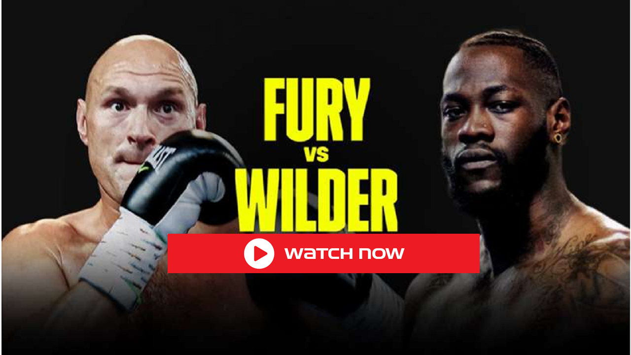 Watch Tyson Fury vs Deontay Wilder 3 Live Stream, Boxing Streaming Free, PPV Fight, Boxing Tonight the heavyweight third trilogy fight of the year.