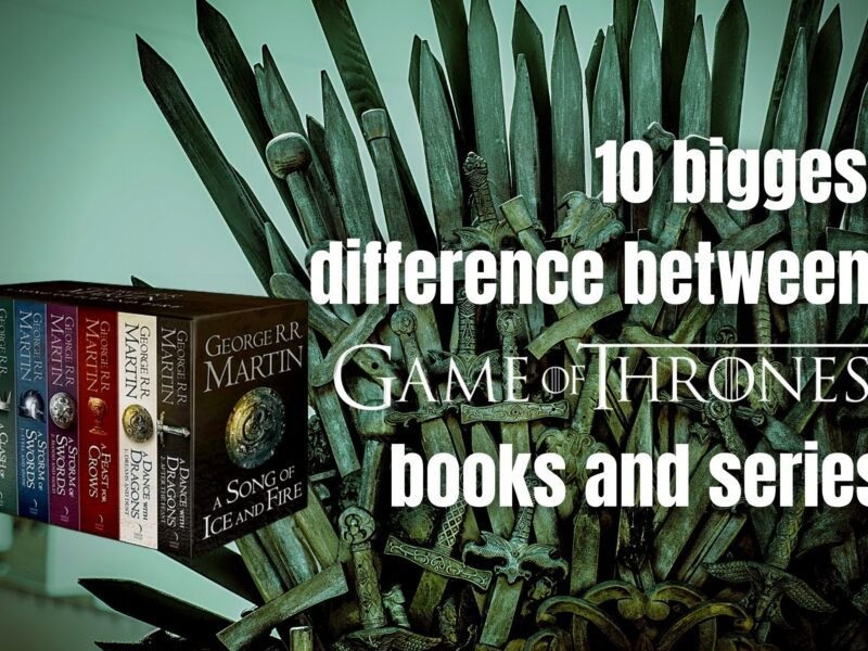 'Game of Thrones' made several changes to its source material. Here are the biggest differences between the books and the series.