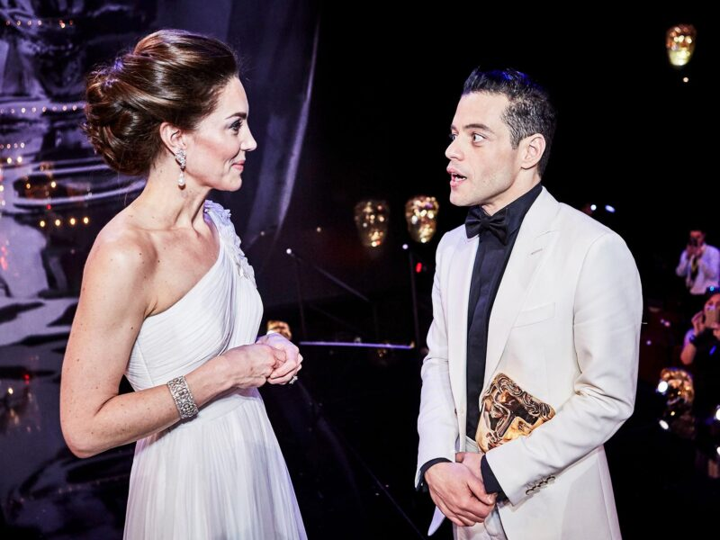 'No Time to Die' star Rami Malek reveals his special relationship with Prince William and Kate Middleton. Just what did the actor reveal?