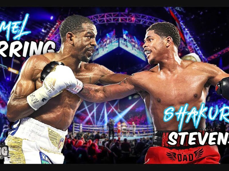 Don't miss a second of the action as Jamel Herring faces off against Shakur Stevenson! Learn how you can stream the fight for free!