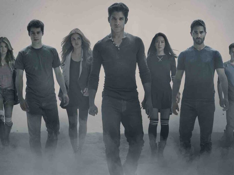 Tyler Posey is adorably excited about the upcoming 'Teen Wolf' movie on Paramount+. Get hyped with him for the upcoming movie.