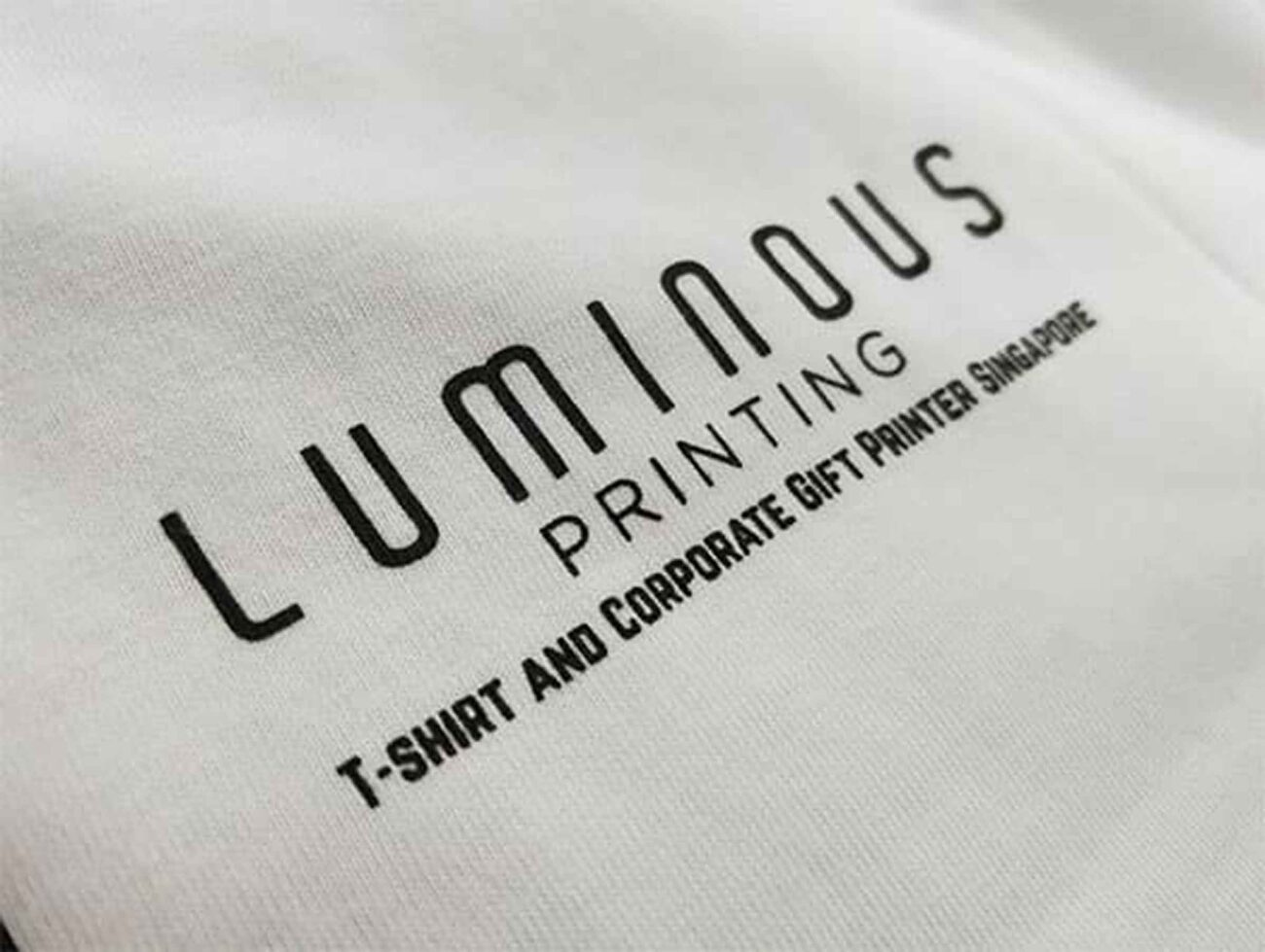 Intimidated by all the options for t shirt printing in Singapore? Learn all about Luminous Printing and see how they are perfect for your job!