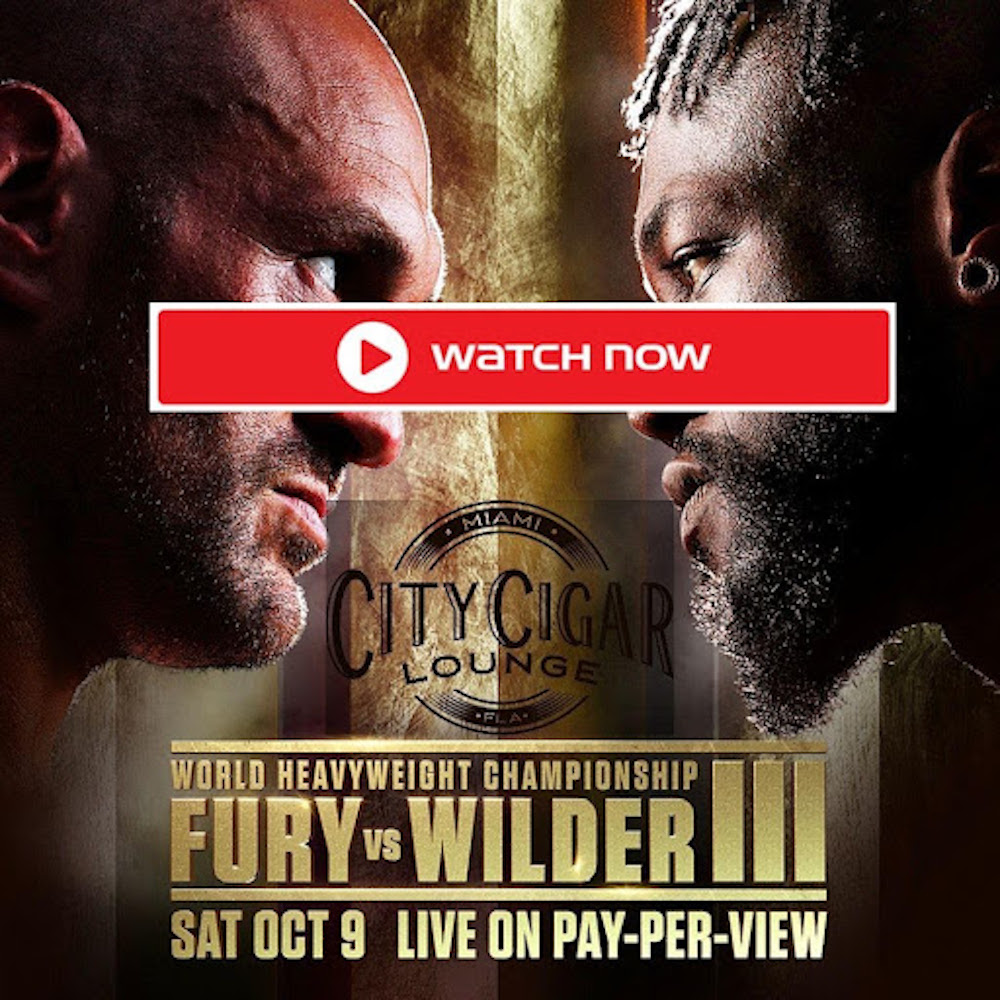 The world heavyweight title fight will take place this weekend. Watch Tyson Fury vs Wilder online here.