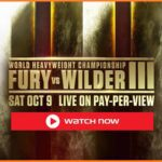 Don't miss a second of the exciting action of Fury vs. Wilder 3! Learn how you can stream one of the most intense matches of the year for free!