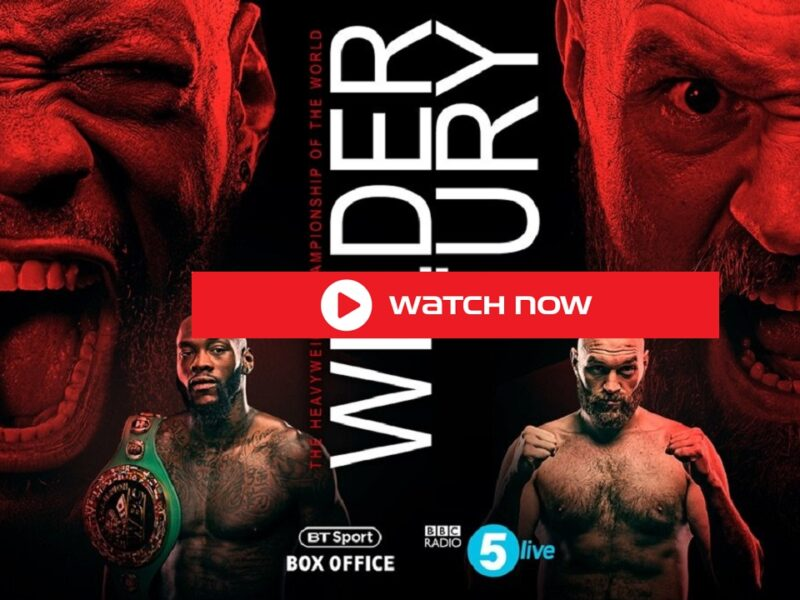 Watch Tyson Fury vs Deontay Wilder 3 live stream: Boxing Streams, PPV Fight Online Free Reddit 2021 boxing match.