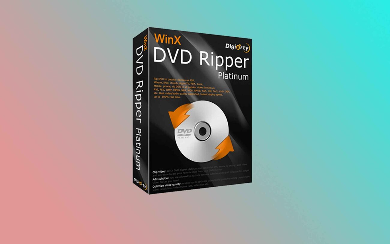 Are you looking to digitize your DVD collection? Learn the facts about how WinX DVD Ripper is perfect for saving high quality digital copies!